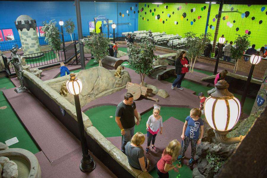 Indoor Mini Golf | Miniature Golf Courses | Grand Slam