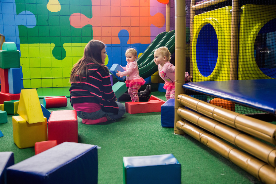 Indoor Playground Play Area For Kids Grand Slam Coon