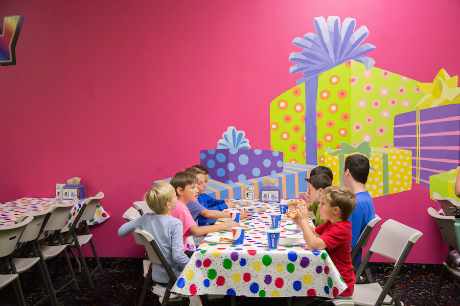 Kids Birthday Party Venues Grand Slam Family Fun Center Coon